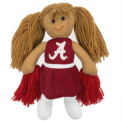 University Of Alabama Cheerleader Doll