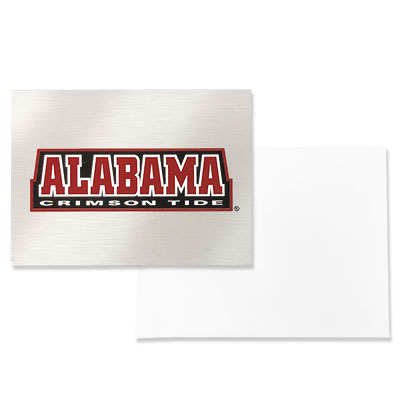 Alabama Crimson Tide Note Card With Envelope Set Of 10