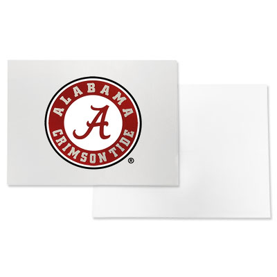 Alabama Circle Logo Note Card With Envelope Set Of Ten