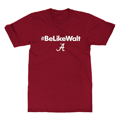#BELIKEWALT OVER SCRIPT A T-SHIRT