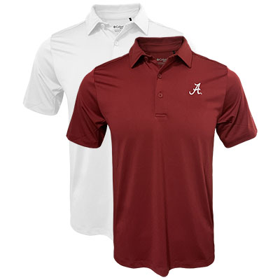 Columbia Omni-Wick Drive Polo With Script A