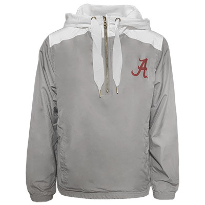 Alabama Script A Stadium Anorak Jacket