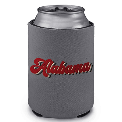 Alabama Retro Can Coozie