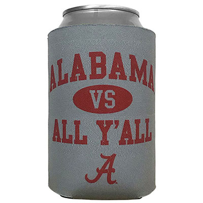 Alabama Vs All Yall Can Coozie