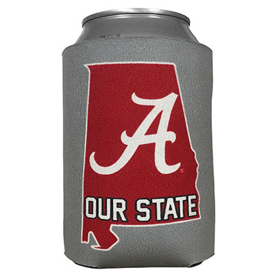 Our State Script A Can Coozie