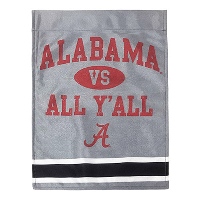 Alabama Vs All Yall Garden Flag