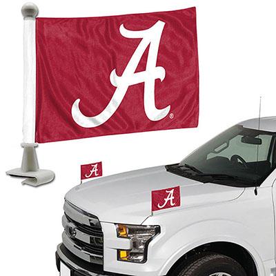 ALABAMA AMBASSADOR CAR FLAG SET OF TWO