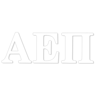 Alpha Epsilon Pi  Greek Letter Decal