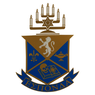 Alpha Epsilon Pi  Greek Crest Decal