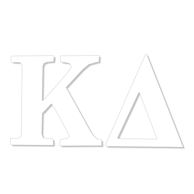 Kappa Delta Greek Letter Decal (SKU 13325817206)