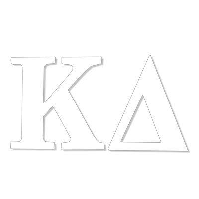 Kappa Delta Greek Letter Decal