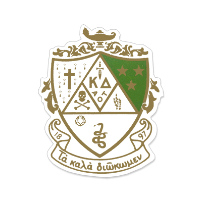 Kappa Delta Greek Crest Decal