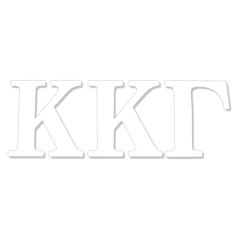 Kappa Kappa Gamma Greek Letter Decal (SKU 13325848206)