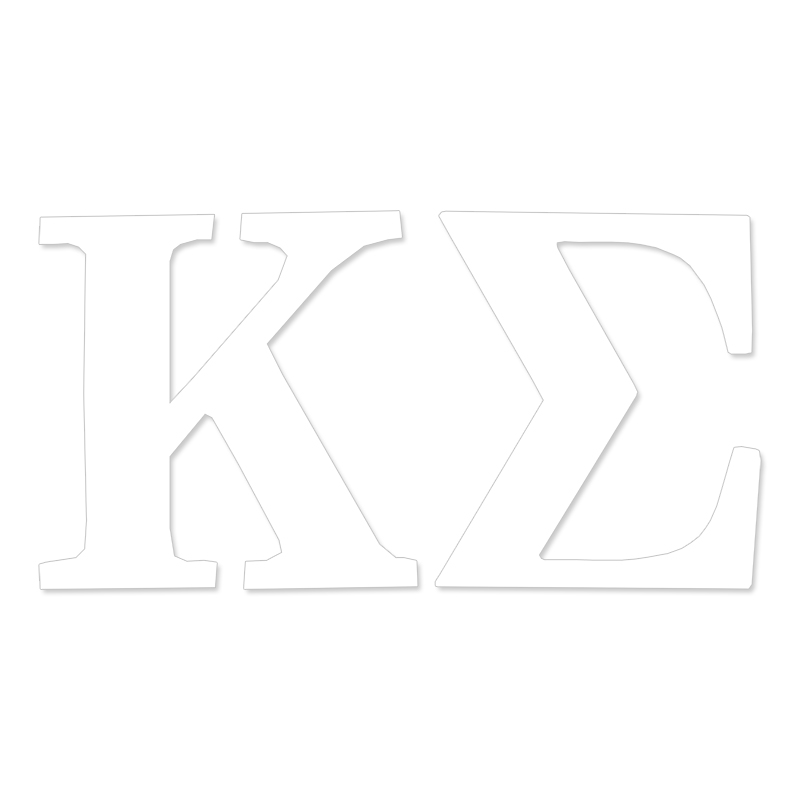 Kappa Sigma Greek Letter Decal (SKU 13325879206)