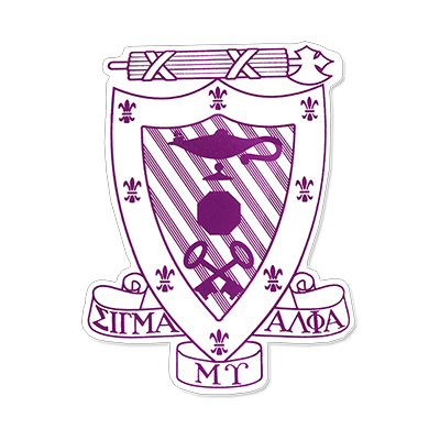 Sigma Alpha Mu Greek Crest Decal