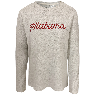 Alabama Crimson Tide Crew With Partial Open Back