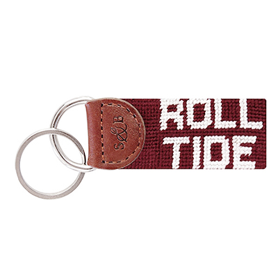 Roll Tide Embroidered Key Fob