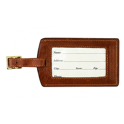 ALABAMA SCRIPT A EMBROIDERED LUGGAGE TAG
