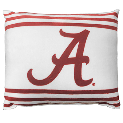 Alabama Triple Stripe Printed Pillow
