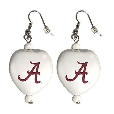 Alabama Kukui Nut Earrings