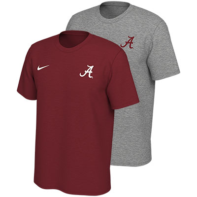 Alabama Script A Legend Logo Dri-Fit T-Shirt