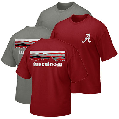Tuscaloosa Alabama Sky Mountain T-Shirt