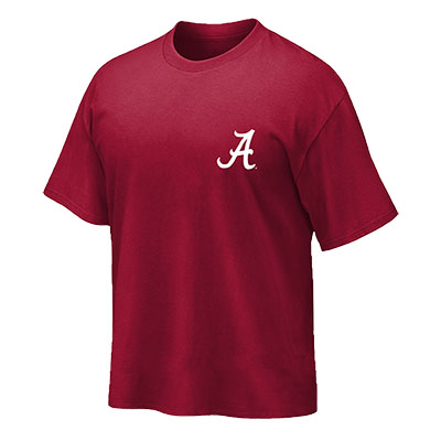 THE UNIVERSITY OF ALABAMA BECAUSE IT'S EVERYTHING T-SHIRT