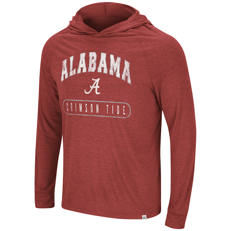 Alabama Crimson Tide Dexthart Long Sleeve Hoodie T-Shirt (SKU 13334666102)