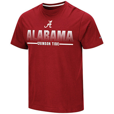 Alabama Crimson Tide On Front Roll Tide On Back Eagletone Short Sleeve T-Shirt