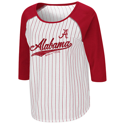 Alabama Crimson Tide Road Trip 3/4 Sleeve Baseball T-Shirt