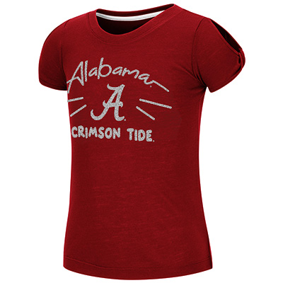 Alabama Crimson Tide Pebbles Short Sleeve T-Shirt