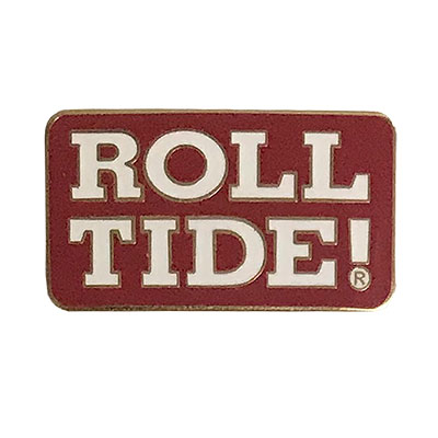 Alabama Roll Tide Lapel Pin