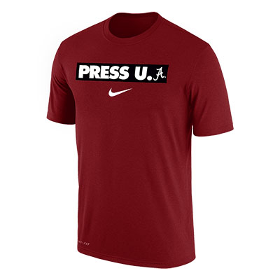 Alabama Press U Dri-Fit Cotton Short Sleeve Verbiage T-Shirt