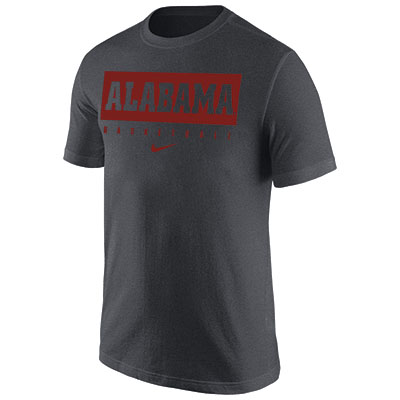 Alabama Basketball Dri-Fit Legend 2.0 Short Sleeve T-Shirt