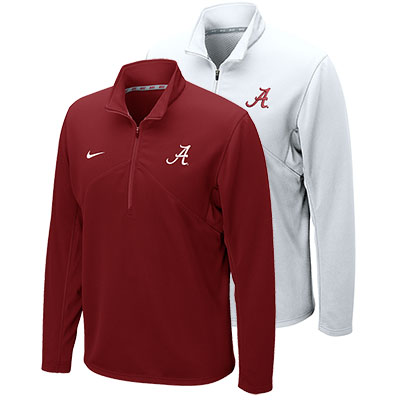 Alabama Dri-Fit Training 1/4 Zip