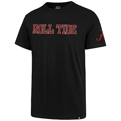 Roll Tide With Script A On Sleeve Fieldhouse T-Shirt
