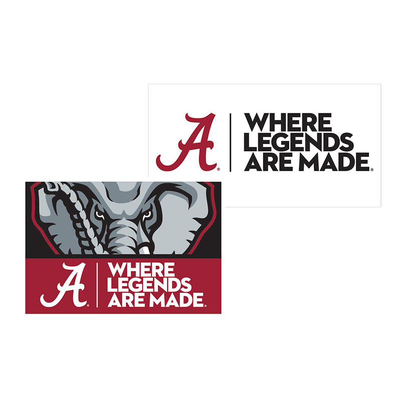 Where Legends Are Made Fridge Magnets 2 Pack (SKU 13349776202)