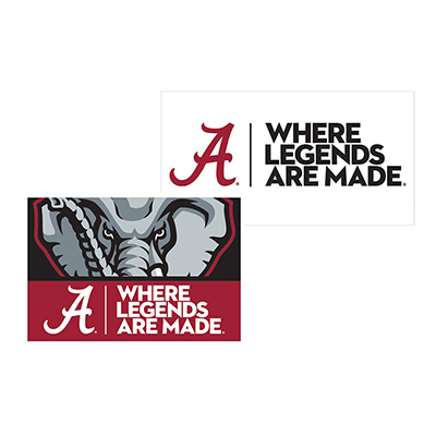 Where Legends Are Made Fridge Magnets 2 Pack