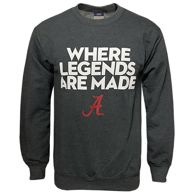 Where Legends Are Made Sweatshirt