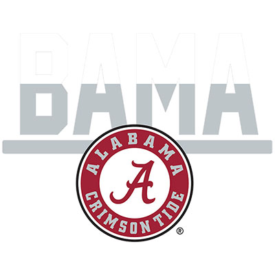 Bama Circle Logo Multi Use Decal
