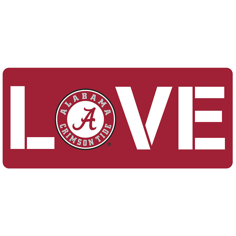 Love Alabama Circle Logo Multi Use Decal (SKU 13352585115)