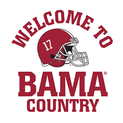 Welcome To Bama Country Multi Use Decal