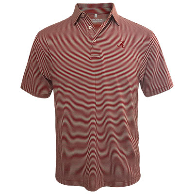 Script A Two Stripe Pinnacle Polo Shirt