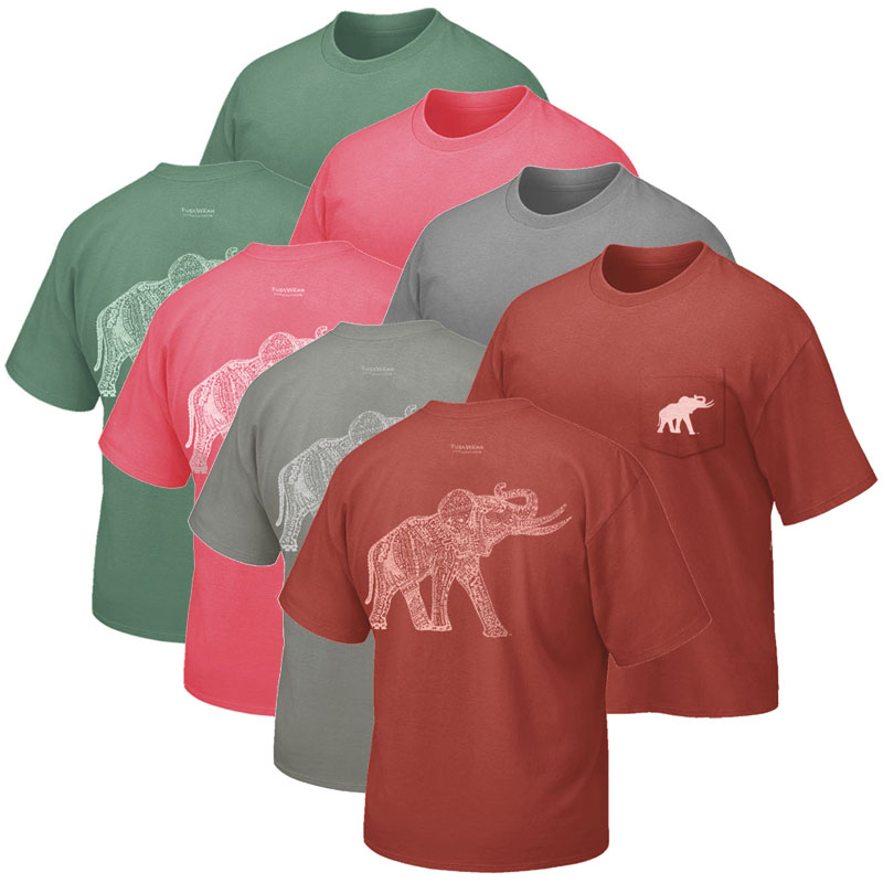 Alabama Original Retro Elephant T-Shirt (SKU 13354374142)