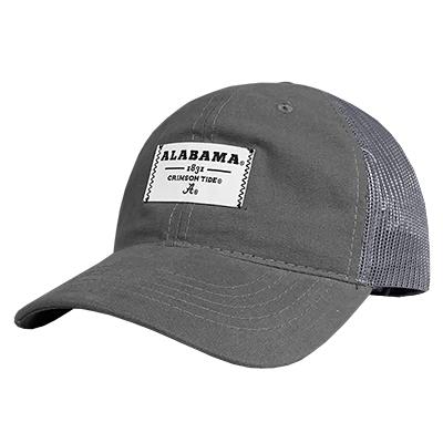 ALABAMA CRIMSON TIDE PATCH TRUCKER HAT