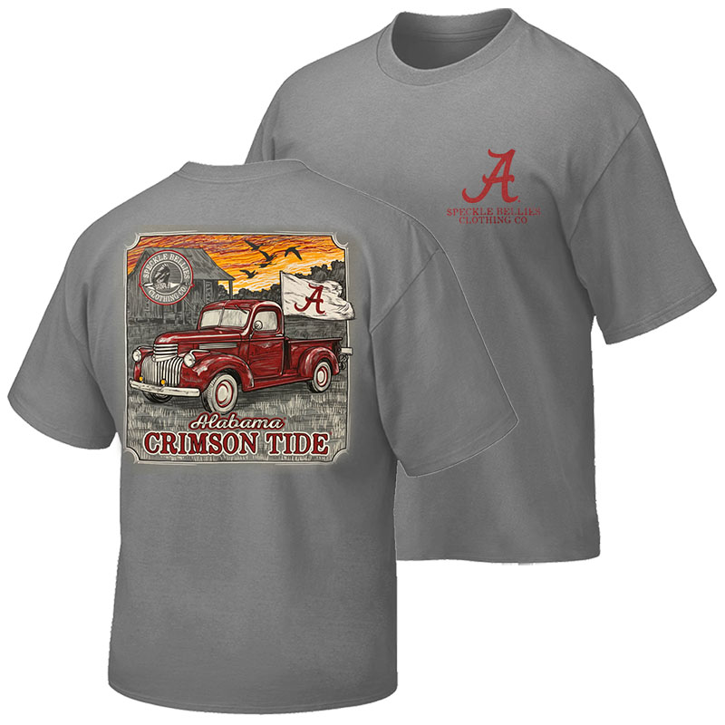 Alabama Truck Script A Flag T-Shirt (SKU 13355883102)