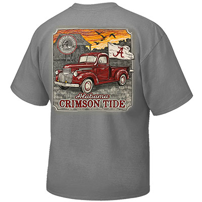 ALABAMA TRUCK SCRIPT A FLAG T-SHIRT