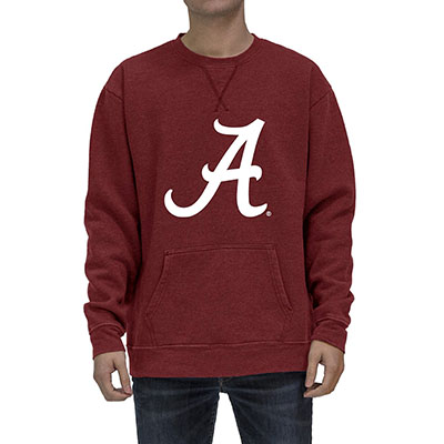 Script A Sweatshirt With Pocket