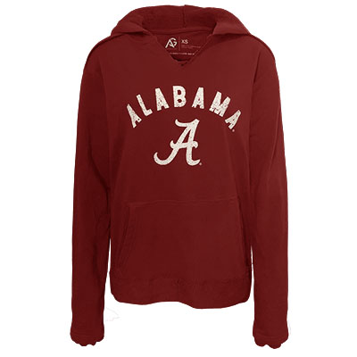 Alabama Over Script A Pullover Hoodie