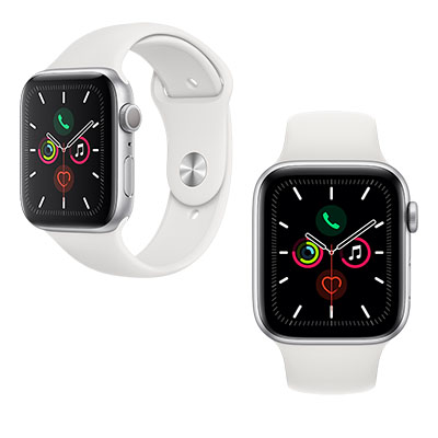 APPLE WATCH SERIES 5 GPS+CELLULAR ALUMINUM CASE WITH SPORT BAND